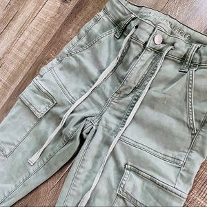 ❤️3 for 90❤️ American Eagle skinny green cargos